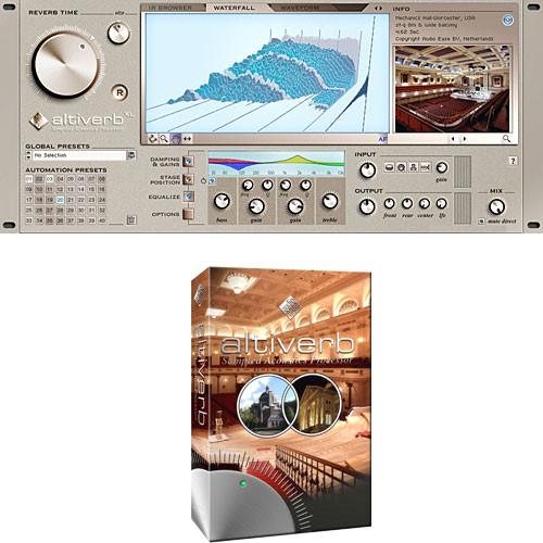 Audio Ease Altiverb 6 XL - Convolution Reverb Plug-In