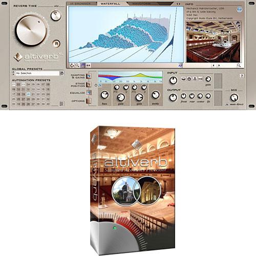 Audio Ease Altiverb 6 - Convolution Reverb Plug-In