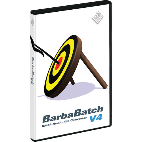 Audio Ease BarbaBatch V4 - Sound-File Conversion Software (Upgrade)