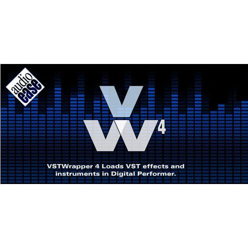 Audio Ease VSTWrapper 4 - VST to MAS Adapter
