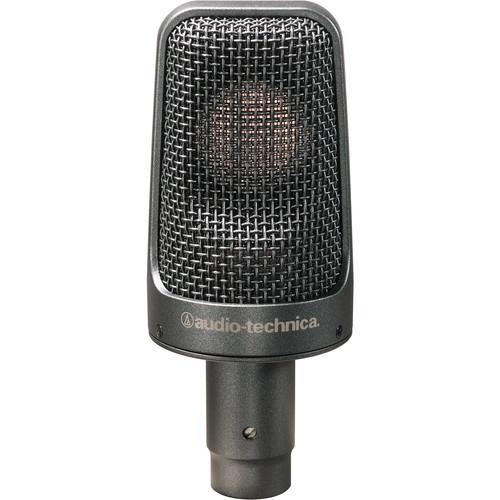 Audio-Technica AE-3000 Cardioid Condenser Instrument Microphone