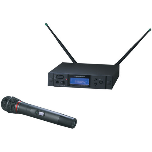 Audio-Technica 4000 Series AEW-4250aD UHF Wireless Handheld Cardioid Condenser Microphone System (Band D)