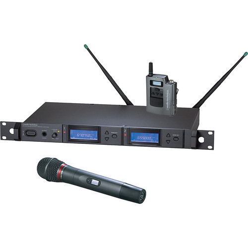 Audio-Technica AEW5314a Dual Wireless Microphone System
