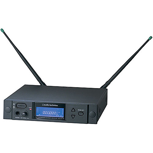 Audio-Technica AEW-R4100 UHF Diversity Receiver for 4000 Series System (Band C - 541.500 MHz to 566.375 MHz)