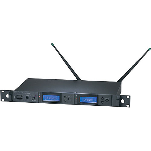 Audio-Technica AEW-R5200 Dual UHF Diversity Receiver (Band D - 655.500 MHz - 680.375 MHz)