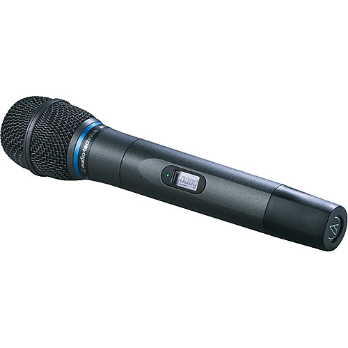 Audio-Technica AEW-T5400A Cardioid Handheld Microphone Transmitter (Band D: 655.500 MHz to 680.375 MHz)