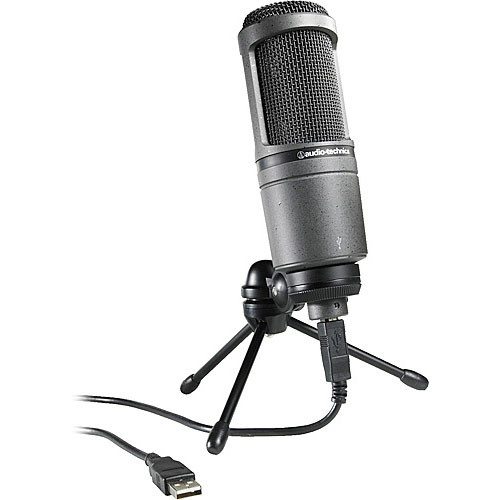 Audio-Technica AT2020USB - Condenser Microphone with USB Connection