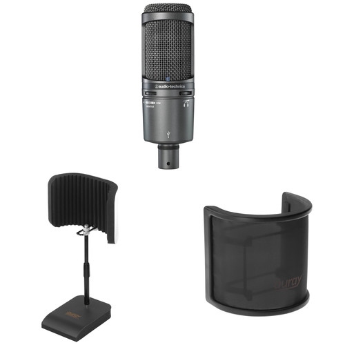 Audio-Technica AT2020 USB+ Desktop Pack Kit