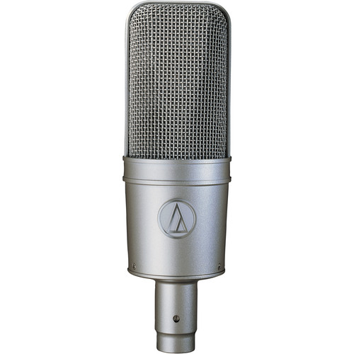 Audio-Technica AT4047/SV Large-Diaphragm Cardioid Condenser Microphone (Silver)