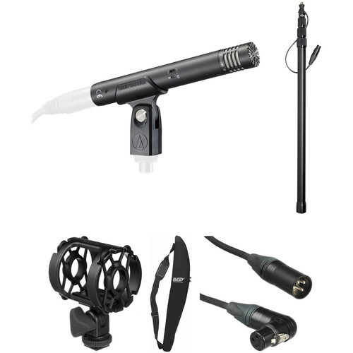 Audio-Technica AT4053b Hypercardioid Condenser Microphone Kit 1
