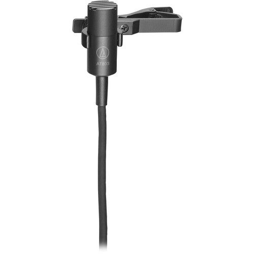 Audio-Technica AT803B - Mini Clip-On Condenser Mic