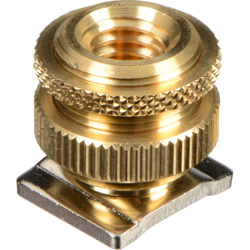 """Audio-Technica AT8469 Camera Shoe Mount to 5/8-27"""" Threaded Base Adapter"""