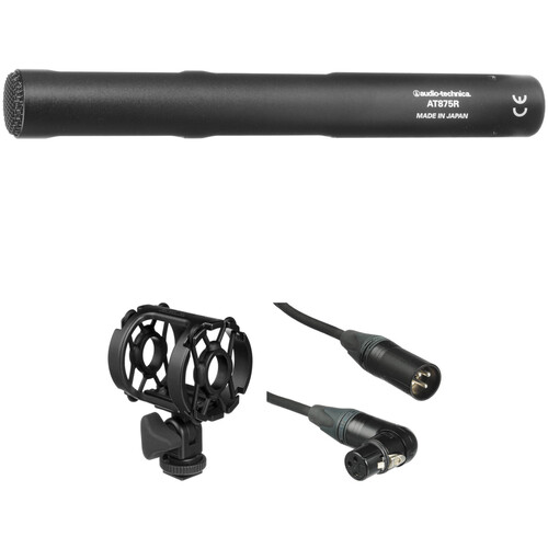 Audio-Technica AT875 Short Condenser Shotgun Microphone Kit
