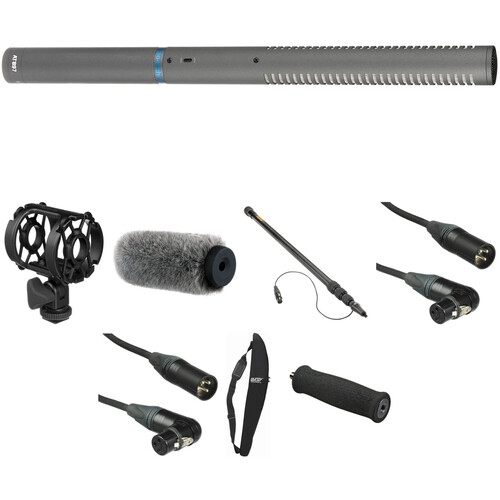 Audio-Technica AT-897 - Shotgun Microphone Basic Kit