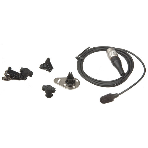 Audio-Technica AT899CW - Sub-Miniature Omnidirectional Lavalier Microphone