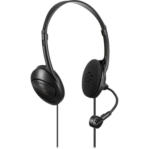 Audio-Technica ATH-COM2 - Stereo Headset with Dynamic Boom