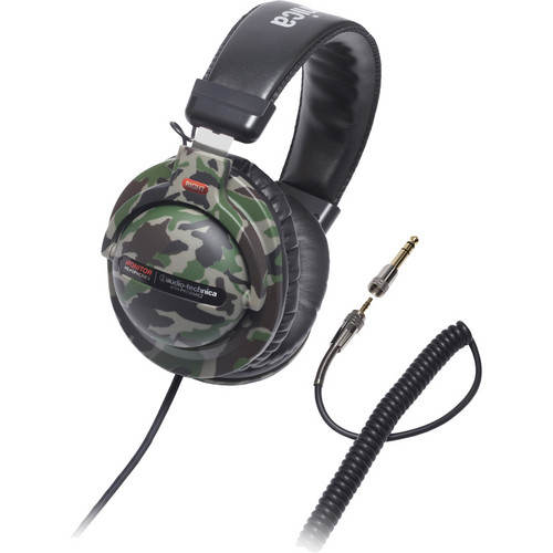 Audio-Technica ATH-PRO5MK2 Stereo Headphones (Camouflage)