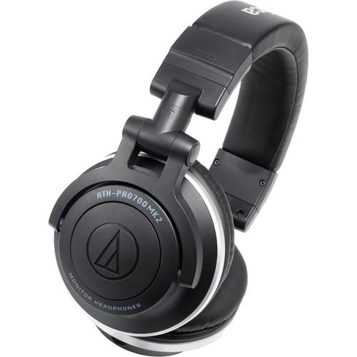Audio-Technica Consumer ATH-PRO700MK2 Professional DJ Monitor Headphones