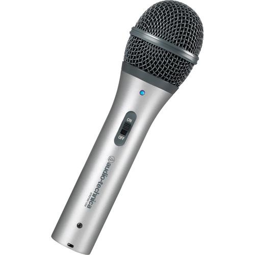 Audio-Technica ATR2100-USB Cardioid Dynamic USB Microphone