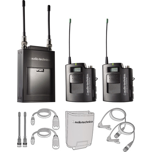 Audio-Technica ATW-1821 Dual Wireless Microphone System