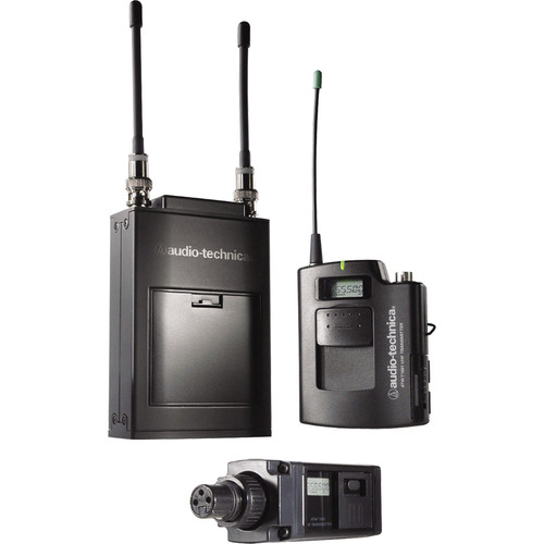 Audio-Technica ATW-1823 Dual Wireless Combo Microphone System