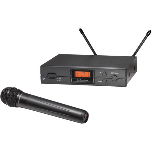 Audio-Technica ATW-2120aD Wireless Handheld Microphone System (aD: 656.125 to 678.500 MHz)