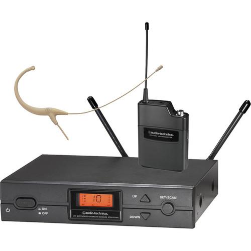 Audio-Technica ATW-2192a Wireless Headworn Microphone System (Beige)