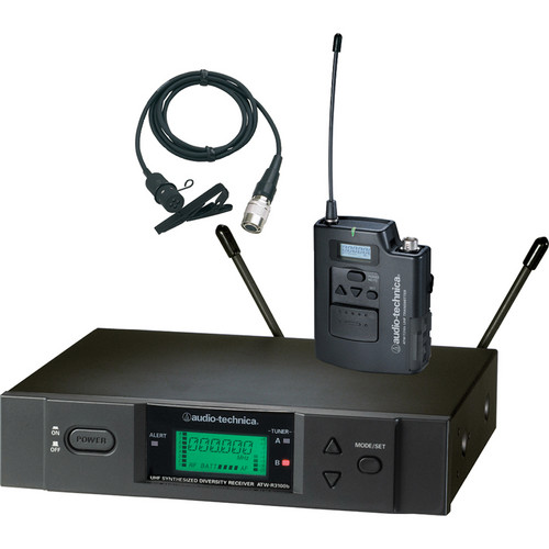 Audio-Technica ATW-3131b Wireless Lavalier Microphone System (Band I: 482.000 - 507.000 MHz)