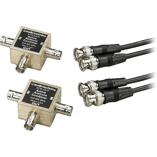 Audio-Technica ATW-49CB Wide-Band Antenna Combiner Kit for Audio-Technica UHF Wireless Systems