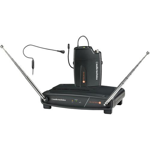 Audio-Technica ATW-801/H92 System 8 Wireless Headworn Microphone System (Black)