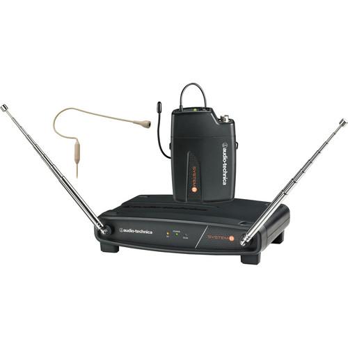 Audio-Technica ATW-801/H92 System 8 Wireless Headworn Microphone System (Beige)