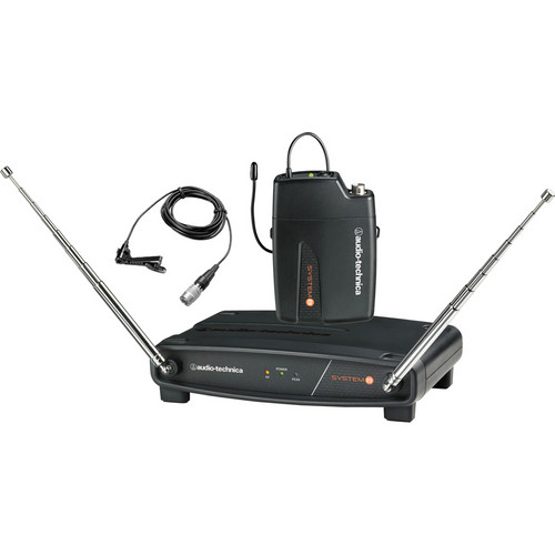 Audio-Technica ATW-801/L System 8 Wireless Lavalier Microphone System