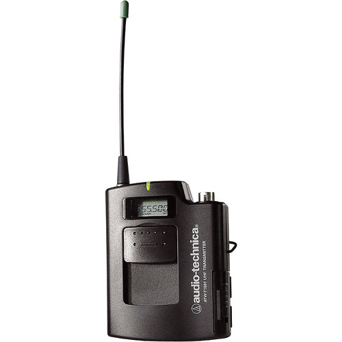 Audio-Technica ATW-T1801 Frequency Agile UHF UniPak Bodypack Transmitter (C: 541.500-566.375 MHz)