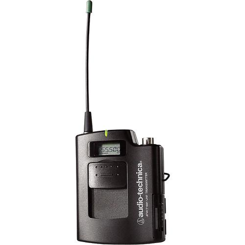 Audio-Technica ATW-T1801 Frequency Agile UHF UniPak Bodypack Transmitter (C: 541.500-566.375 MHz)