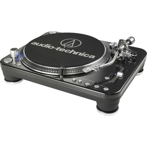 Audio-Technica AT-LP1240-USB Professional DJ Direct-Drive Turntable (USB & Analog)