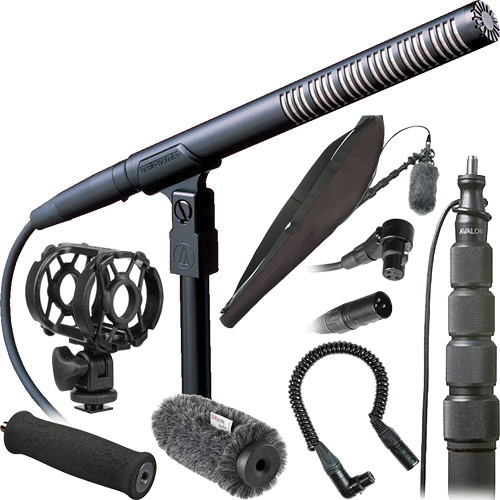 Audio-Technica Deluxe Shotgun Microphone Kit