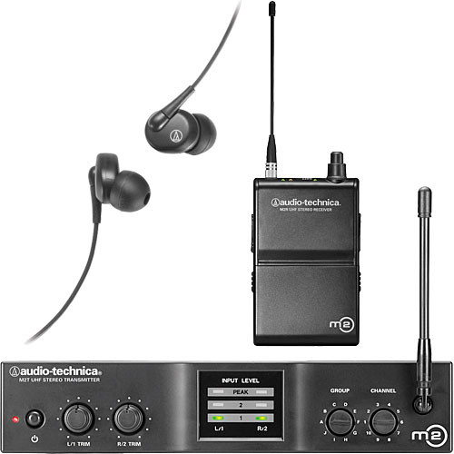 Audio-Technica M2 Wireless In-Ear Monitoring System (Band M: 614.000 to 647.000 MHz)