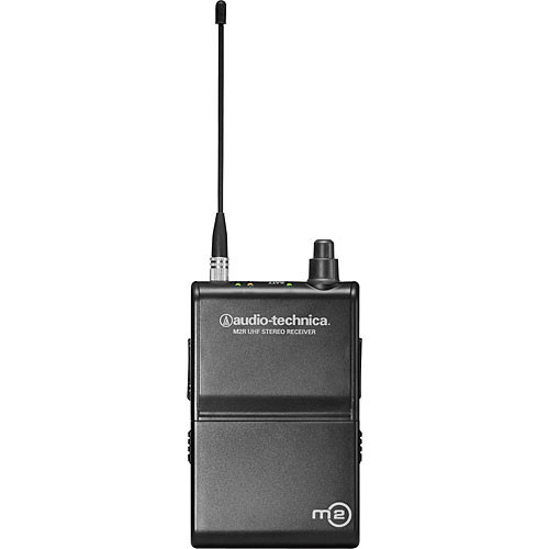 Audio-Technica M2R Wireless In-Ear Monitoring Receiver (Band M: 614.000 to 647.000MHz)