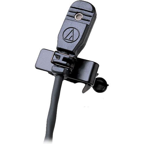 Audio-Technica MT830c Omnidirectional Lavalier Condenser Microphone (Black, Unterminated Pigtail)