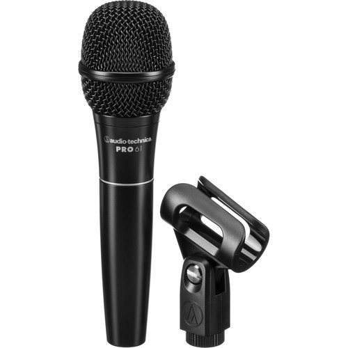 Audio-Technica PRO 61 Handheld Hypercardioid Dynamic Microphone