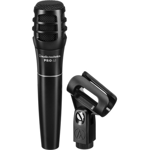 Audio-Technica PRO 63 Cardioid Dynamic Microphone