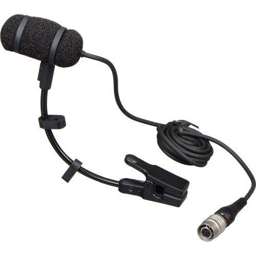 Audio-Technica PRO 35cW Cardioid Condenser Clip-On Microphone with cW-Style Connector
