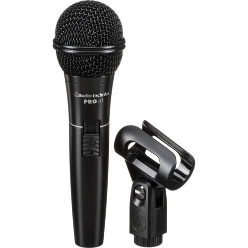 Audio-Technica PRO 41 Handheld Cardioid Dynamic Microphone