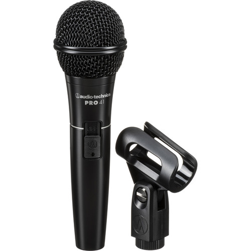 Audio-Technica PRO 41 Handheld Cardioid Dynamic Microphone