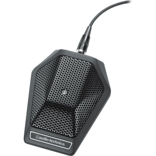 Audio-Technica U851R Cardioid Condenser Boundary Microphone (Black)