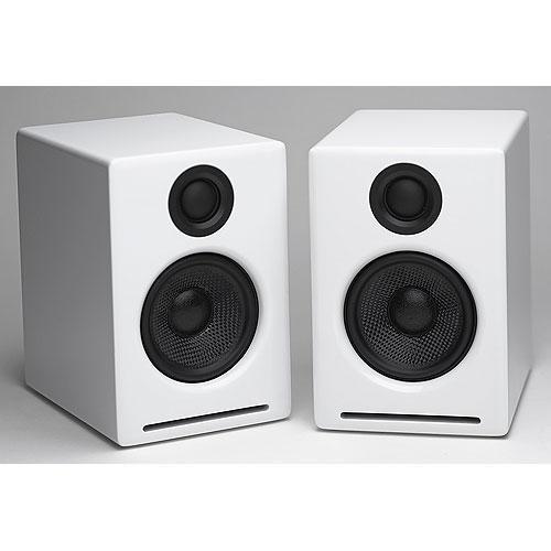 Audioengine A2 Desktop Speakers (White)