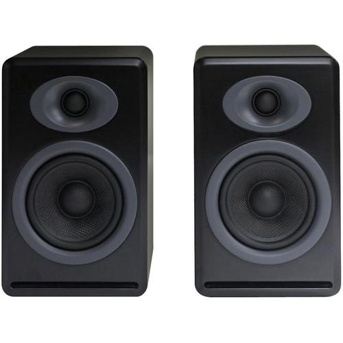 Audioengine P4 2-Way Passive Bookshelf Speakers (Black, Pair)