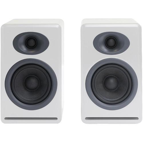 Audioengine P4 2-Way Passive Bookshelf Speakers (White, Pair)