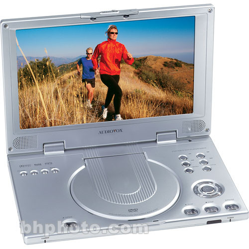 "Audiovox D2011 Portable DVD Player, 10.2"" LCD Screen"