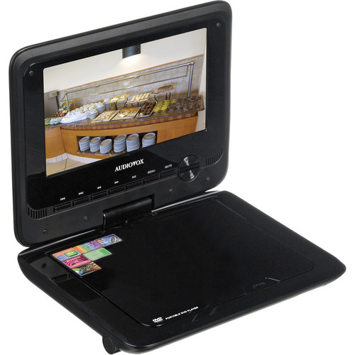 "Audiovox DS7321 7"" Portable DVD Player"